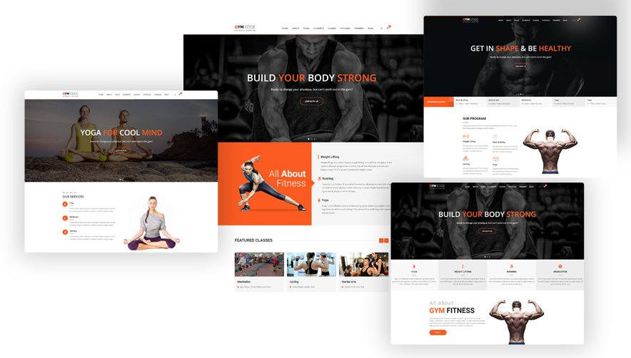 Gym Fitness WordPress Theme