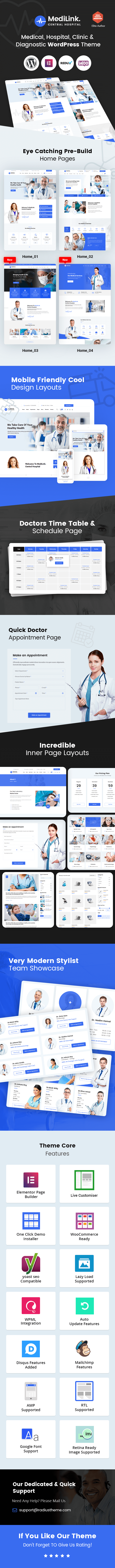 Medilink WordPress theme