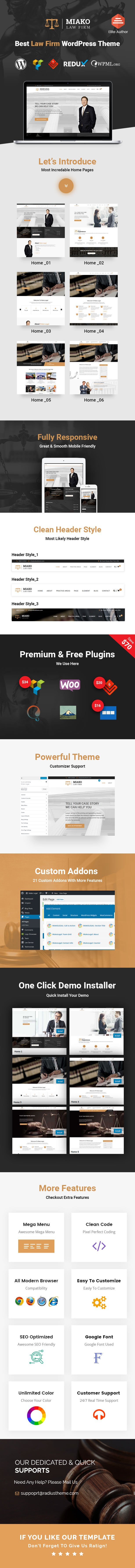 law wordpress theme