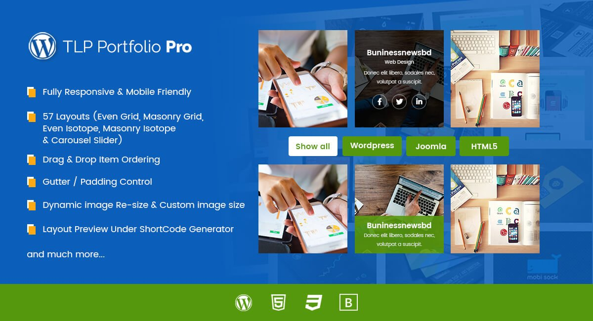TLP Portfolio Pro for WordPress