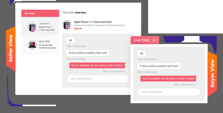Classima live chat