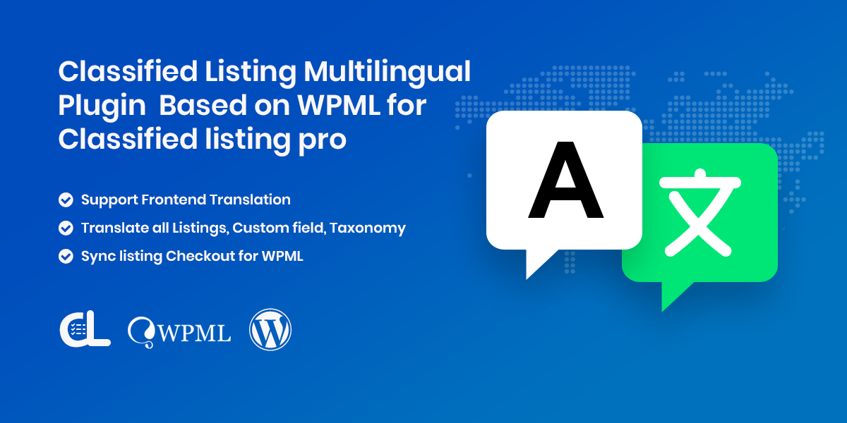 Classified Listing MultiLingual Addon