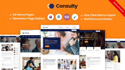 Consulty – Business Consulting WordPress Theme