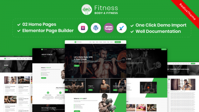 Fitness – Gym Fitness WordPress Theme