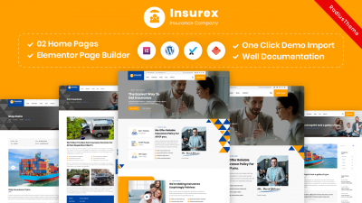 Insurex – Insurance Company WordPress Theme