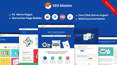 SEO Master – SEO Digital Marketing Agency WordPress Theme