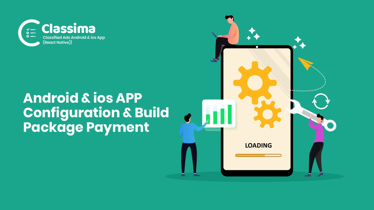 Android & iOS APP Configure and Build Payment