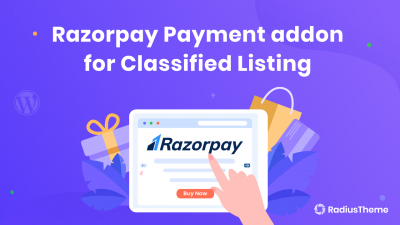 Razorpay Payment addon for Classified Listing