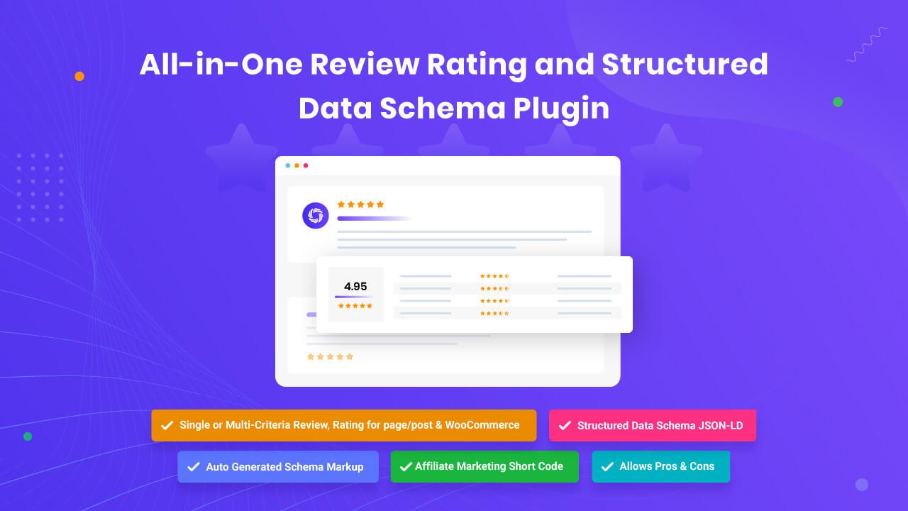 WordPress Review & Structure Data Schema Plugin – Review Schema