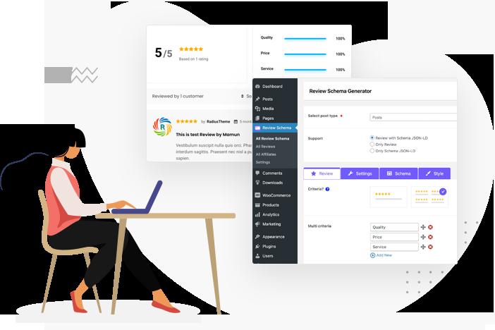 WordPress Review Plugin